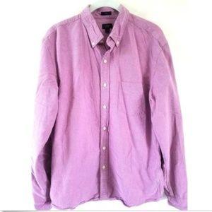 J.Crew Slim Fit Purple Oxford Button Down Shirt